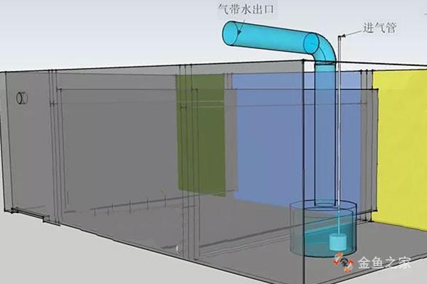 聚气杯中的气头是过滤系统中的动力来源
